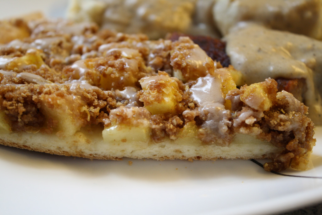 Apple Cinnamon Pizza - Yum! | Casa de Lindquist - Food